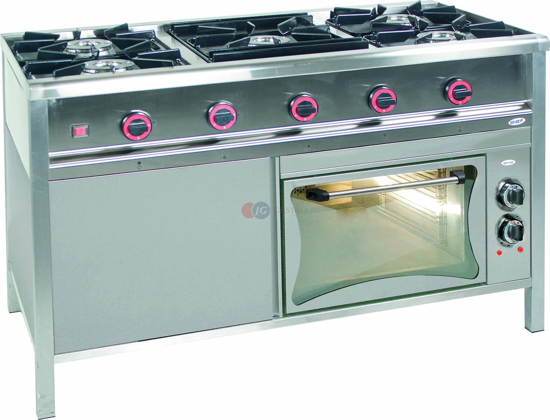 Kuchnia Gazowa 5 Palnikowa Z Piekarnikiem Elektrycznym 29533 Kw Egaz Tg 5730pke 1